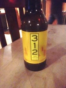 Bottle of 312