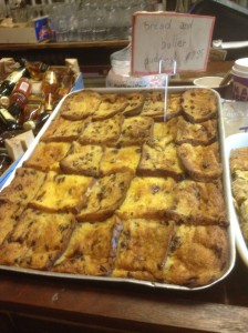 Bread and Butter Pudding at Edins