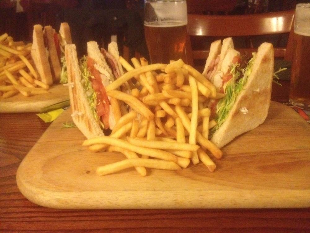 Fellows Club Sandwich