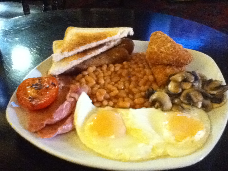 All Day Breakfast at the Red Heart