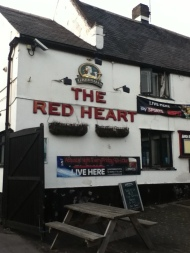 The Red Heart in Ruddington – Beer, Football, and Breakfast (all day)