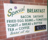 Cafe 67 on the Colwick Industrial estate – Friendly Cafe with DecentFood