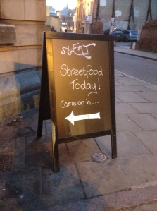 StREAT sign at Gallery