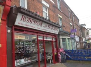 Robinsons Butchers in Netherfield