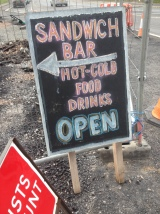 Sandwich Bar Open Sign