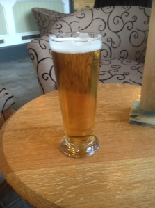 Helles Lager at Crafty Crow