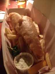 The Castle Pub – Good Beer and 'Takeaway Fish and Chips' Indoors