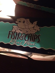 Fish and Chips in a box