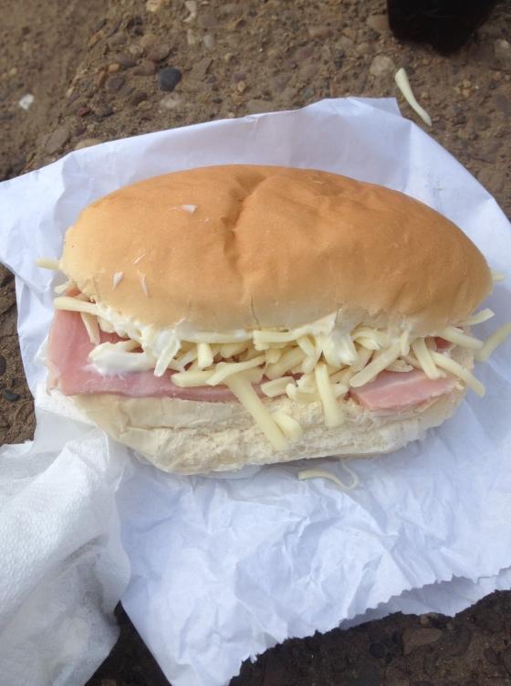 Ham and Cheese Cob