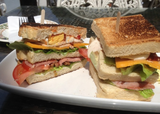 Club Sandwich at the Parlour