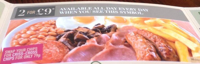 All Day Breakfast Offer Grosvenor