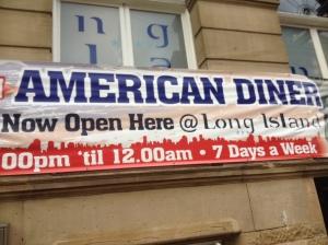 American Diner Sign