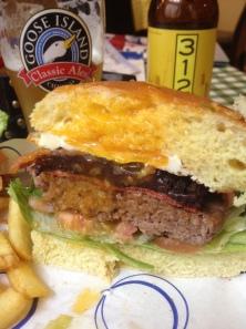 Slice of Bogart Burger