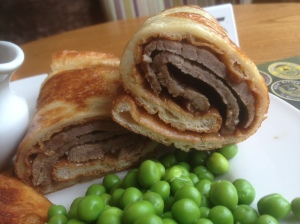 Roast Beef Yorshire Pudding Wrap