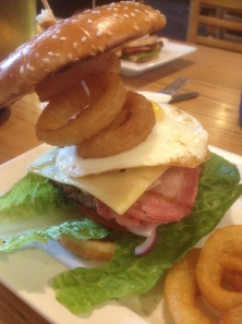 The Brunch Burger at The Company Inn