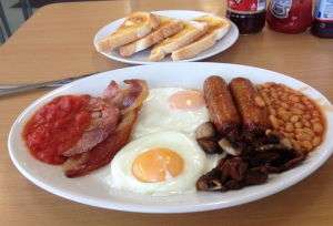 All Day Breakfast at Meadown Lane Cafe