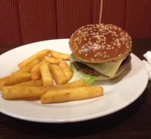 Bacon Cheeseburger at Wetherspoons