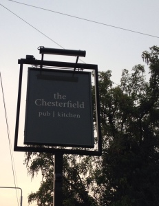 The Chesterfield Sign