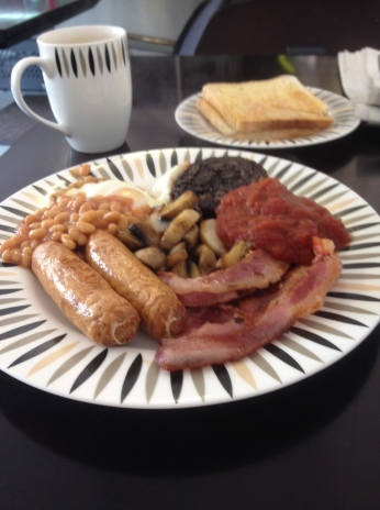 Breakfast at Joes Cafe