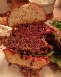 Inside the Chesterfield Burger