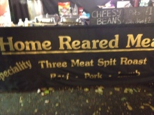 Home Reared Meats at Heathehill farm stall