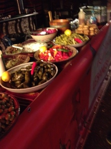 Food at Pomegranate in Goose Fair