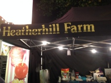 Heatherhill Farm stall at Goose Fair