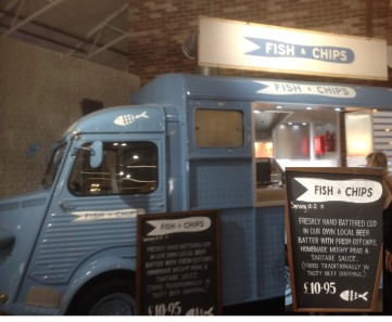 Fish abd Chip van at Wheatcrofts