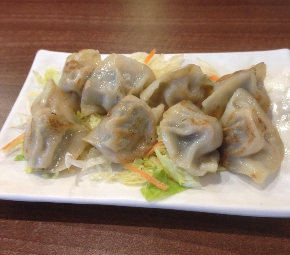 fried dumplings at Dingheen