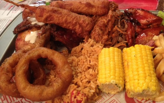 Rub Smokehouse Platter