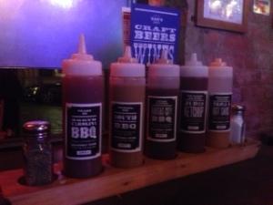 Reds BBQ sauces