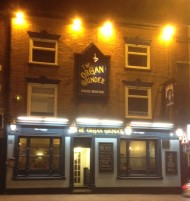 The Organ Grinder aka The Blue Monkey Pub – this is mostly about a great pub and beer