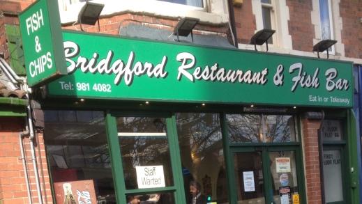 Bridgford Fish and Chips