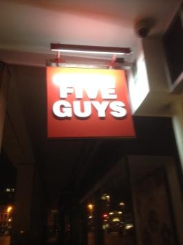 Five Guys Nottingham