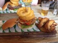 The Bob Marley Burger at the NavigationInn