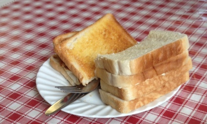 How much bread? Toast and Bread abd butter