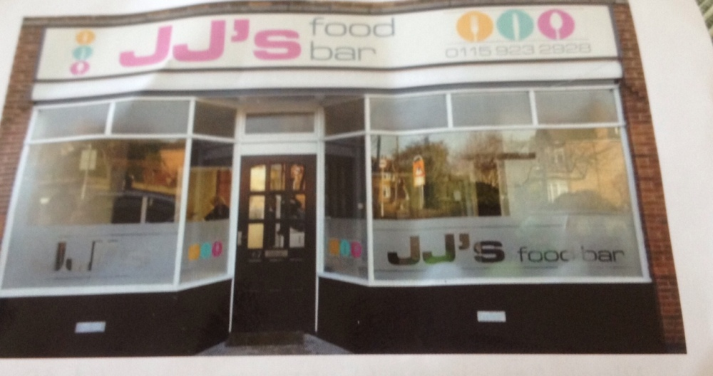 JJs Food Bar in West Bridgford
