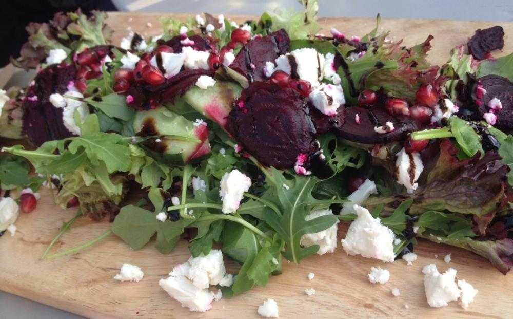 Feta and Beetroot salad