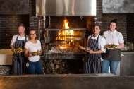 Oaks Restaurant – Local English BBQ cooked on the Embers