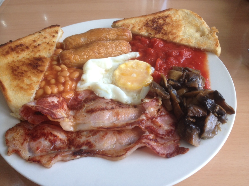 The Mega Breakfast at the Avenues Cafe in Sneinton