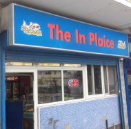 "The ""In Plaice"" on the Tram Line in Clifton, the name is an awesome pun and they have pretty good fish and chips too"
