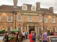 The Test Match Pub, an Art Deco Classic, for Fish and ChipsFriday