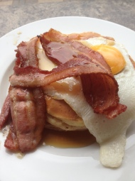 Jo's Pancake House – Bacon and Maple Syrup? On Pancakes? don't mind if I do!