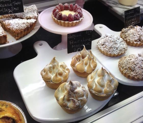 Pastries at Boutique Aromatique