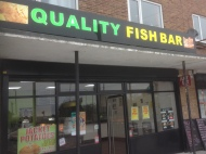 """Quality Fish Bar"" on the Clifton Estate – Hunting Food by Tram"