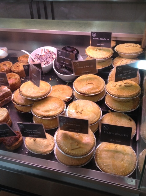 Pies at Welbeack
