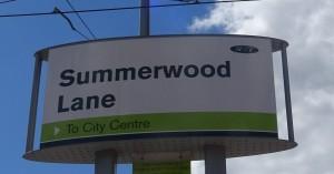 Summerwood Lane Tram Stop
