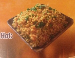 Arabian Rice at Nevada Chicken