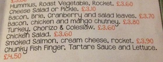 More Sandwich Filling Options at the hungrt pumpkin
