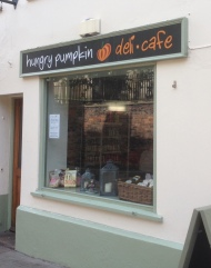 The Hungry Pumpkin, a deli and café in the Lace Market for lunch